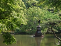 Hibiya Park Crane Fountain