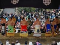 Sumo Ring Entering Ceremony