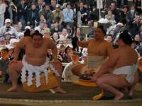 Yomozuna Ceremonty Sumo