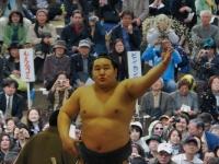 Salt Throwing at Sumo