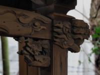Temple Carving Asakusa