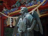 tengu-statue-at-mttakao