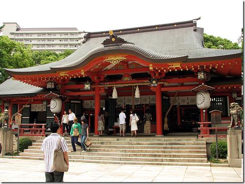 Ikuta Shrine Kobe