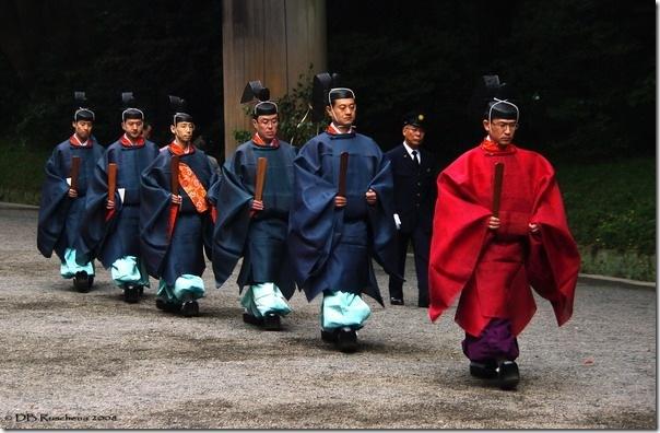 Meiji Jingu Shinto Priests