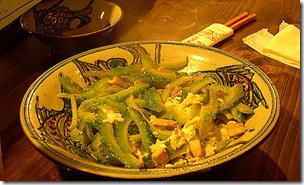 Goya Chanpuru Japanese Food