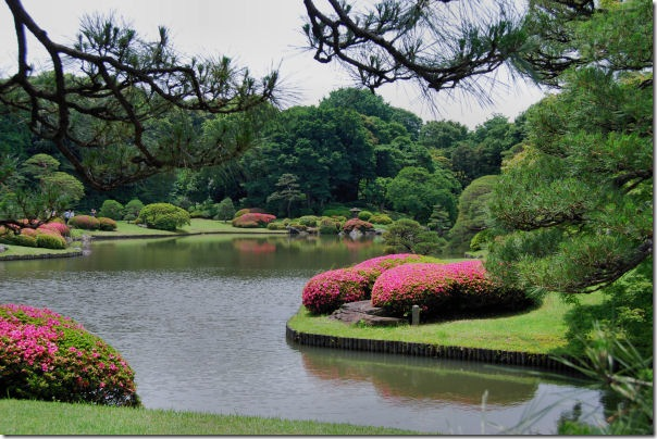 Rikugien Japanese Garden