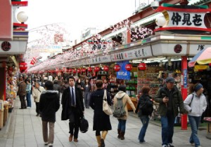Asakusa Japan Nakamise Shopping Street