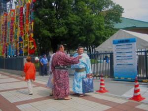 Sumo Wrestlers Tokyo