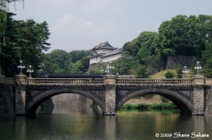 Nihon Bashi Bridge Imperial Palace Japan