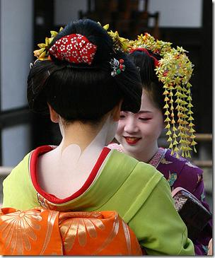 Geish Maiko Japan