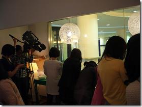 Kobe Sweets Festa 2009 reporters Japan