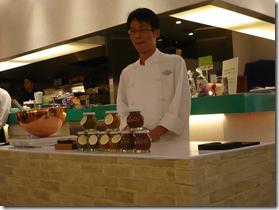 Kobe Sweets Festa 2009 Chef Tanaka from Patrie Japan