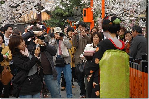 Kyoto Toursits Geisha