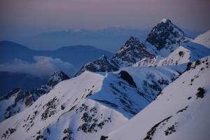 Peaks of Mt. Hotakadake Japan