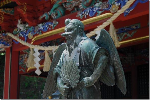Tengu Statue at Mt.Takao