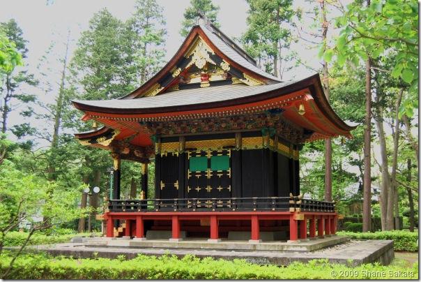 Edo Open Air Museum Jishou-in Mausoleum