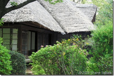 Edo Open Air Museum Thatched Roof House