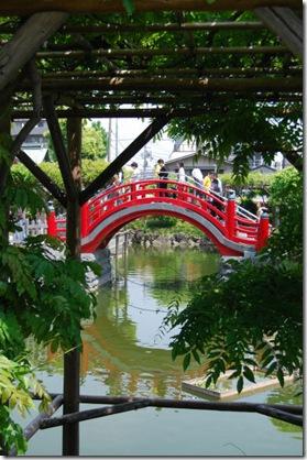Kameido Tenjin Drum Bridge