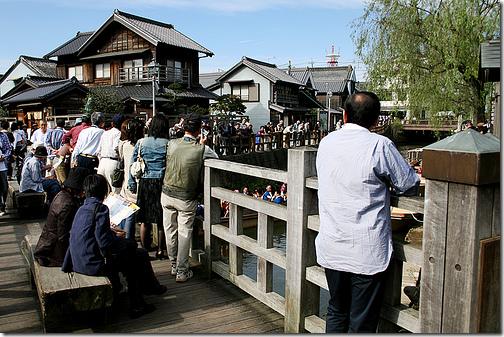 tourists japan