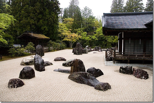 Banryutei Rock Garden Zen Garden Japan