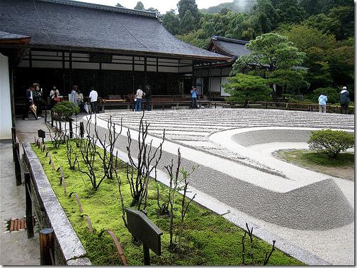 Ginshadan Zen Garden Japan