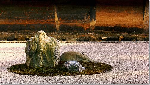 Ryoan-ji Temple Rock Garden Zen Garden Japan
