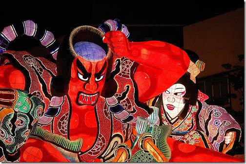 Aomori Nebuta Festival Japan
