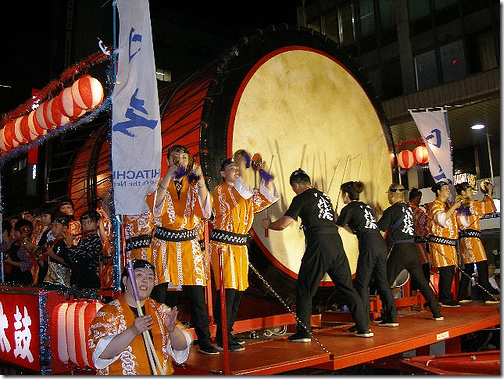 Aomori Nebuta Festival Drums Japan