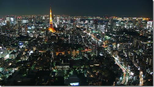 tokyo city view roppongi mori tower