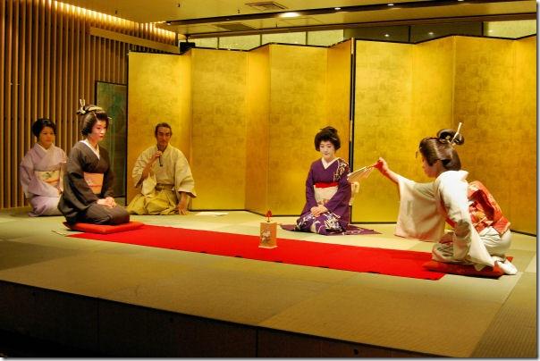 Omotenashi Geisha Games Tokyo Japan