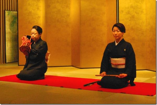 Omotenashi Geisha Musician Tokyo Japan