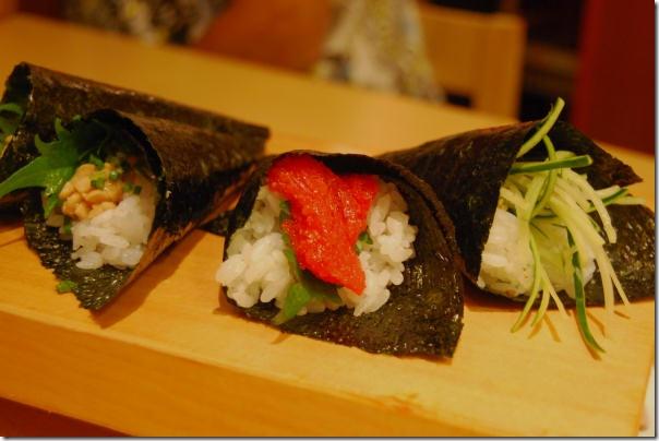 Temaki Sushi Tsukiji Japan Tokyo