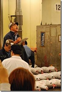 Tsukiji Fish Market Tokyo Japan Tuna Auction2