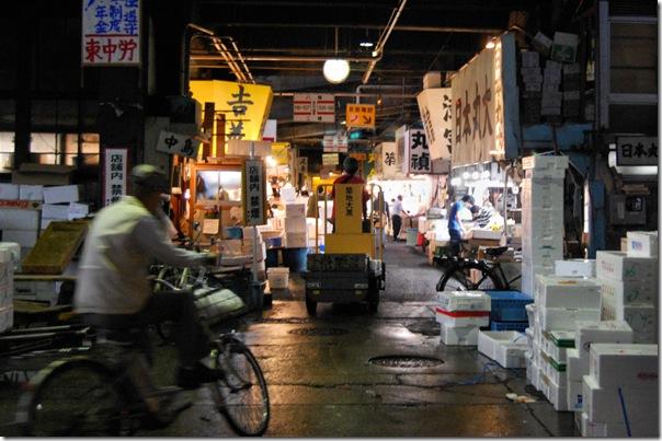 Tsukiji Fish Market Tokyo Japan1