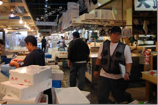 Tsukiji Fish Market Tokyo Japan2
