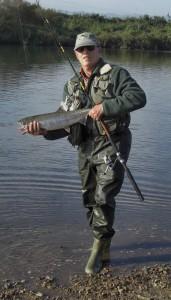 ukedogawa salmon fishing japan