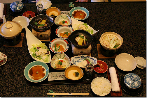 kaiseki Japan small portions food