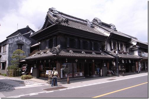 kura warehouses Kawagoe Japan