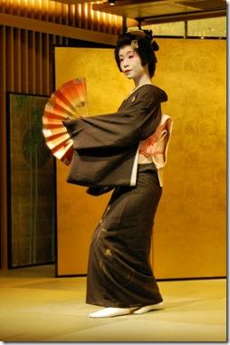 Kimono Sleeve Geisha
