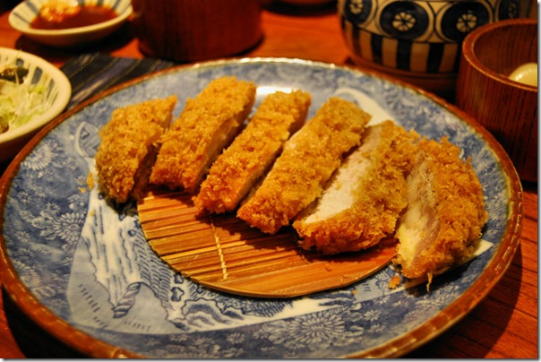 Tonkatsu Pork Japan Tokyo Restaurant