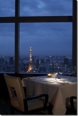 Ritz-Carlton Tokyo Hotel Japan View